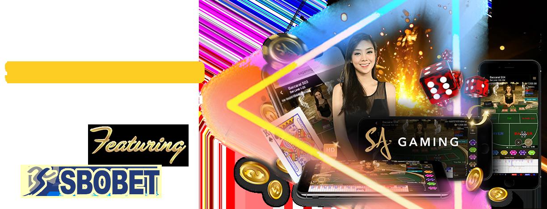 Sbobet SA Gaming Live casino